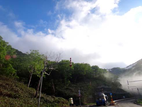 山岳道を堪能します。