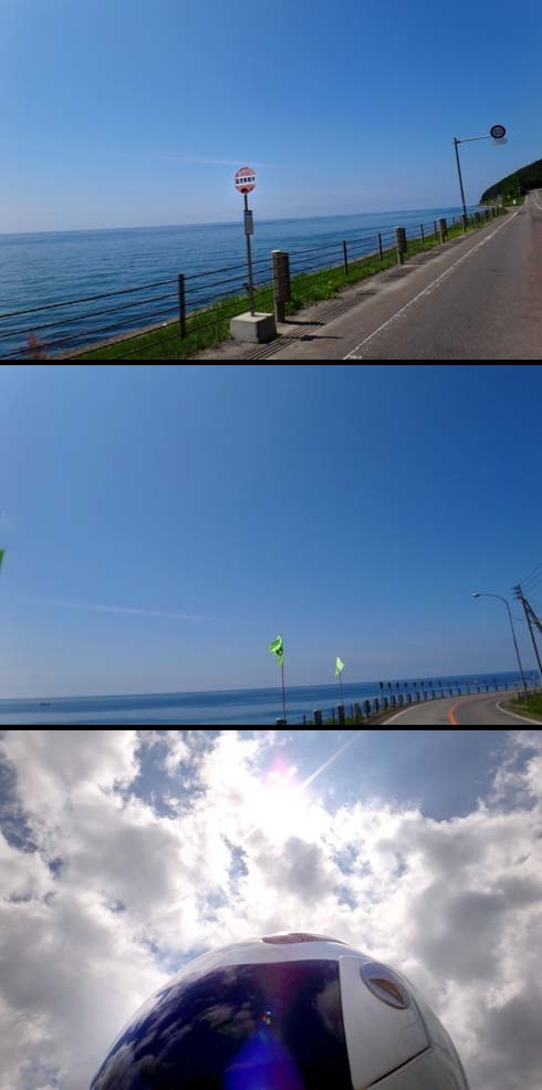 日本海です。