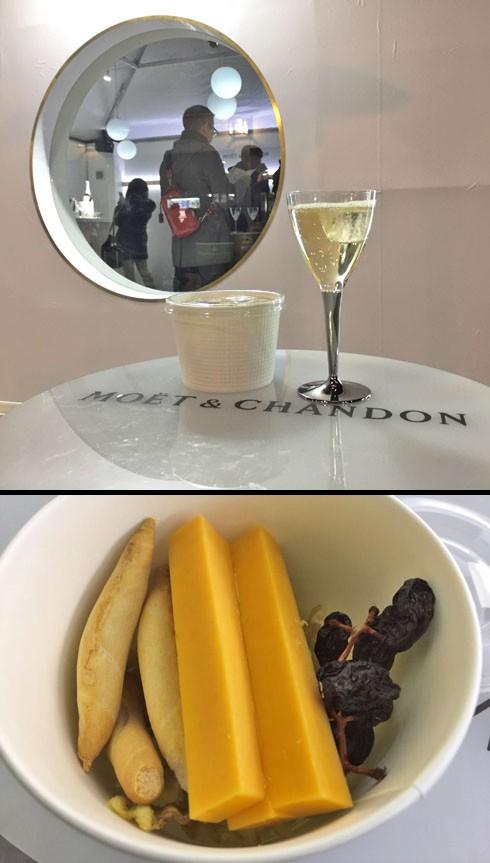 シャンパンとおつまみ