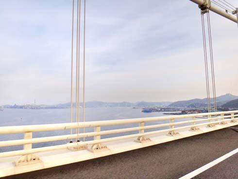 関門橋ぢゃ~ありません。