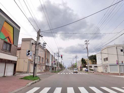 岩内市街です。