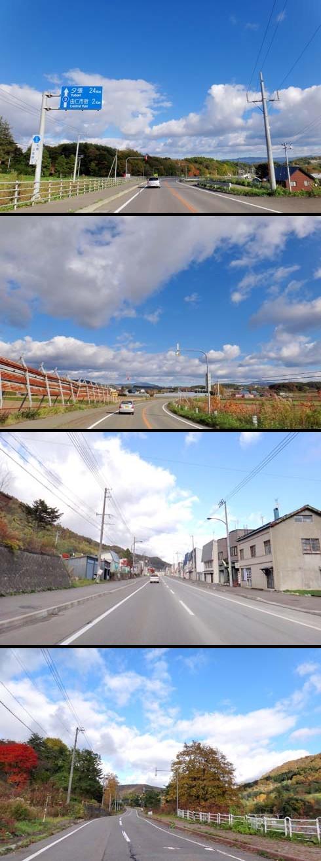 北海道ちっくな風景でしょー。