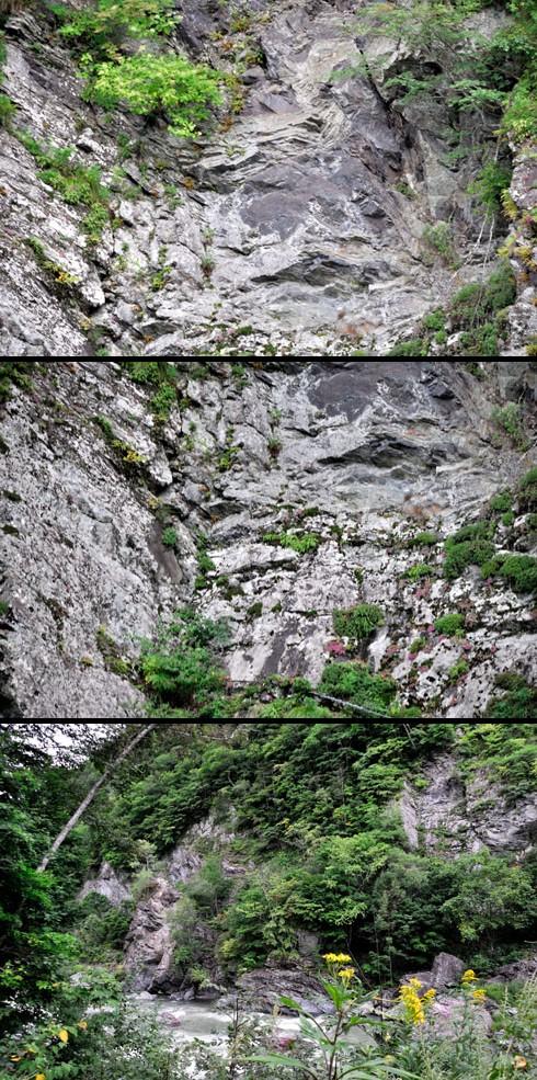 まさしく峡谷です。