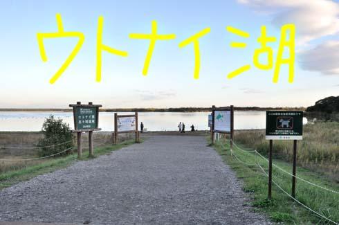 道の駅を抜けるとソコは湖畔だった。